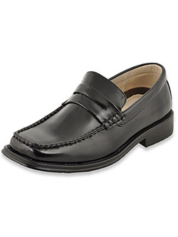 "Boys ""Buxton"" Penny Loafers by EasyStrider in Black"