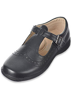 "Easy Strider Girls ""Worsted T-Strap"" Mary Janes (Toddler Sizes 9 – 12) - CookiesKids.com"