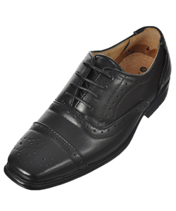 "Easy Strider Boys' ""Fully Worsted"" Dress Shoes (Toddler Sizes 11 – 12) - CookiesKids.com"
