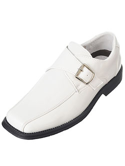 "Easy Strider Boys' ""Chevron Shine"" Dress Shoes (Youth Sizes 13 – 7) - CookiesKids.com"