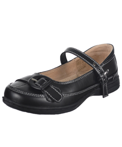 "Easy Strider Girls' ""Winnie"" Mary Janes (Youth Sizes 4 – 7) - CookiesKids.com"