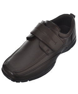 "Easy Strider Boys' ""Garett"" Velcro Dress Shoes (Youth Sizes 13 – 3) - CookiesKids.com"