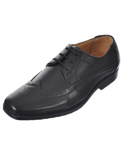 "Easy Strider Boys' ""Worsted Wingtip"" Dress Shoes (Youth Sizes 13 – 7) - CookiesKids.com"