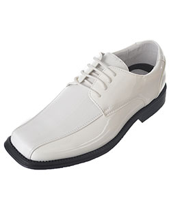 "Easy Strider Boys' ""Texture Stripe Vamp"" Dress Shoes (Youth Sizes 4 – 7) - CookiesKids.com"