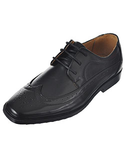 "Easy Strider Boys' ""Worsted Wingtip"" Dress Shoes (Youth Sizes 13 – 3) - CookiesKids.com"