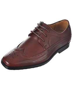 "Easy Strider Boys' ""Worsted Wingtip"" Dress Shoes (Youth Sizes 4 – 7) - CookiesKids.com"