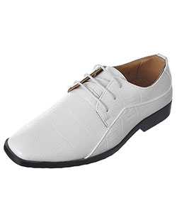 "Easy Strider Boys' ""Faux Snakeskin Oxford"" Dress Shoes (Youth Sizes 13 – 3) - CookiesKids.com"