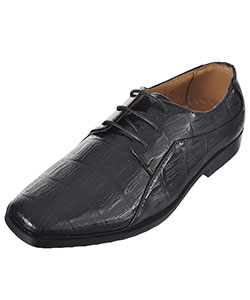 "Easy Strider Boys' ""Faux Snakeskin Oxford"" Dress Shoes (Youth Sizes 4 – 7) - CookiesKids.com"