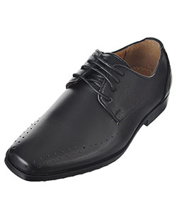 "Easy Strider Boys' ""Line Perforations"" Dress Shoes (Youth Sizes 13 – 3) - CookiesKids.com"