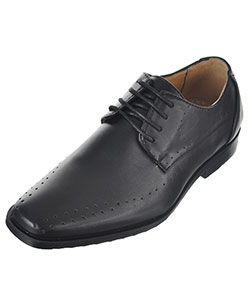 "Easy Strider Boys' ""Line Perforations"" Dress Shoes (Youth Sizes 4 – 7) - CookiesKids.com"