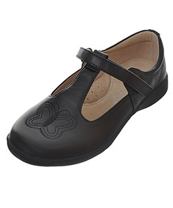 "Easy Strider Girls' ""Monarch Stitch"" Mary Janes (Youth Sizes 13 – 7) - CookiesKids.com"