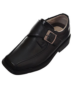 Boys' Single Strap Dress Shoes by Easy Strider in Black