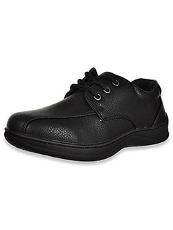 Boys' Texture Lace-Up Shoes by Easy Strider in Black