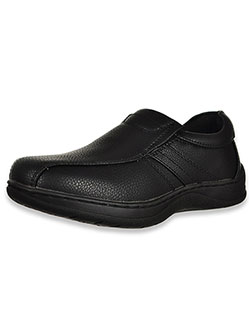Boys' Raised Stripe Slip-On Shoes by Easy Strider in Black