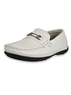 Boys' Loafers by Easy Strider in White - Dress Shoes