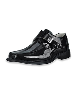 Boys' Patent Leather Dress Shoes by Easy Strider in Black