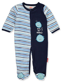 Baby Boys' Sharks Footed Coverall by Fisher Price in Multi