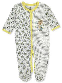 Baby Boys' Pram Footed Coverall by Precious Moments in Multi