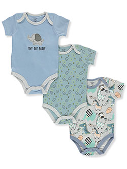 Baby Boys' 3-Pack Bodysuits by Mon Cheri Baby in Multi, Infants