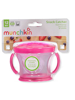 Snack Catcher Snack Dispenser by Munchkin in Fuchsia