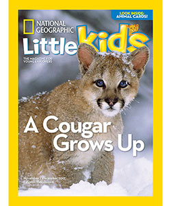 National Geographic Little Kids Magazine (1 Year / 6 Issues) - CookiesKids.com