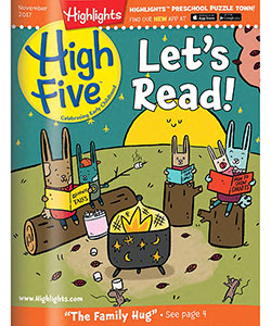 Highlights High Five Magazine (1 Year / 12 Issues) - CookiesKids.com