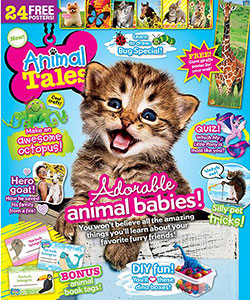 Animal Tales Magazine (1 Year / 6 Issues) - CookiesKids.com