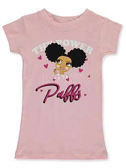 Girls' Girl Power T-Shirt by Popular Sports in Blush - T-Shirts