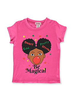 Girls' Be Magical T-Shirt by Miss Popular in Fuchsia