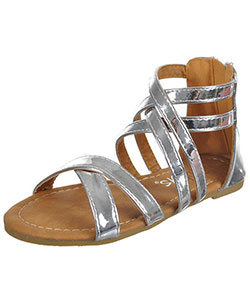 "Yokids Girls' ""Cross Shine"" Sandals (Youth Sizes 13 – 4) - CookiesKids.com"