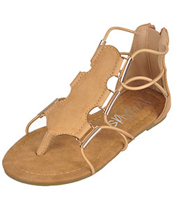 "Yokids Girls' ""Jillian"" Gladiator Sandals (Youth Sizes 13 – 4) - CookiesKids.com"