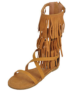 "Yokids Girls' ""Nada"" Gladiator Sandals (Youth Sizes 13 – 4) - CookiesKids.com"