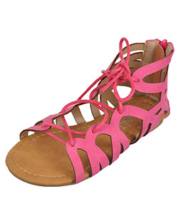 "Yokids Girls' ""Rose"" Sandals (Youth Sizes 13 – 4) - CookiesKids.com"