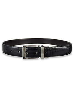 Boys' Perforated Belt by Steve Madden in Black/brown