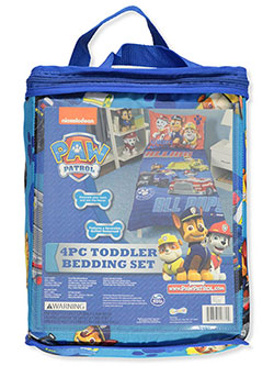 4-Piece Toddler Bedding Set by Paw Patrol - $59.99