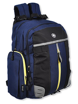 Adventurers Backpack Diaper Bag by Jeep in Navy