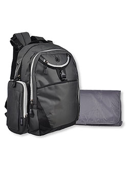 Backpack Diaper Bag by Jeep in Gray/black