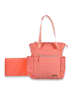 Lucy Tote Diaper Bag by Bananafish Studio in Pink, Infants