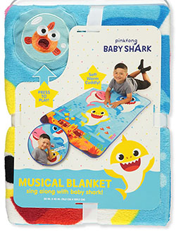 Musical Blanket by Pinkfong Baby Shark in Multi, Infants