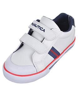 "Nautica Boys' ""Hull – Strap"" Sneakers (Toddler Sizes 5 – 12) - CookiesKids.com"