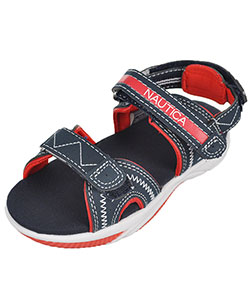 "Nautica Boys' ""Jamestown"" Sport Sandals (Toddler Sizes 5 – 12) - CookiesKids.com"