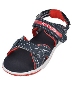 "Nautica Boys' ""Jamestown"" Sport Sandals (Youth Sizes 13 – 6) - CookiesKids.com"
