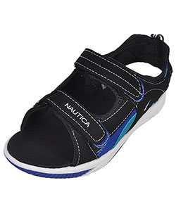 "Nautica Boys' ""Helm"" Sport Sandals (Youth Sizes 13 – 5) - CookiesKids.com"