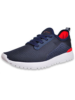 Girls' Kaiden Sneakers by Nautica in Navy/red