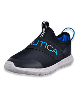Boys' Steeper Sneakers by Nautica in black/red and navy blue