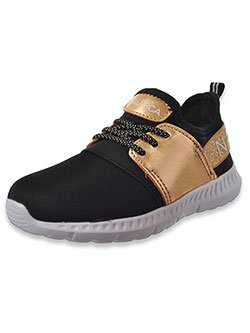 Girls' Kappil Sneakers by Nautica in Black/gold