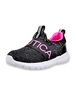 Girls' Sparkle Band Canvey Sneakers by Nautica in Pink, Shoes