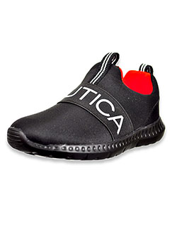 Girls' Canvey Sneakers by Nautica in Black/red, Shoes