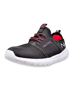 Girls' Kapil 3 Sneakers by Nautica in Black, Shoes