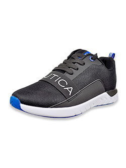 Boys' Alier Youth Sneakers by Nautica in Black, Shoes